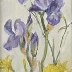 Oljemålning Astrid Harms-Ringdahl (1912-