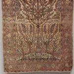 Orientmatta Livets träd, 146x200