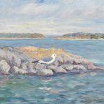 Oljemålning Hilmer Eriksson (1881-1962)