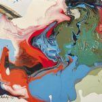 Oljemålning Paul Holsby (1921-2007)