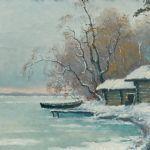 Oljemålning Ellen Favorin (1853-1919)