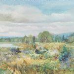 Oljemålning Dan Martin (1910-1999)