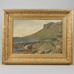 Oljemålning Carl Nielsen (1848-1904)