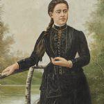 Oljemålning N W Dalberg