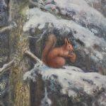 Oljemålning Sten Ekendahl (1897-1968)