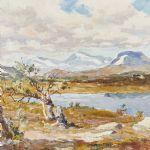 Oljemålning Johan Bladh (1893-1976)