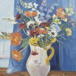 Oljemålning Zoia Krukowskaja (1903-1999)