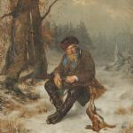 Oljemålning Reinhold Callmander