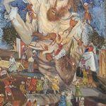 Akvarell Ryssland, Gulliver, 31x23, 1974