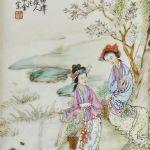 Porslinstavla Kina