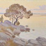 Oljemålning Ernst Lindgren (1887-1948)