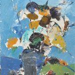 Oljemålning Helmut Mantel