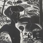Litografi Channa Bankier (f. 1947)