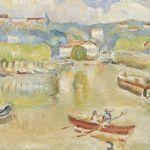Oljemålning Lotty Bretzner (1885-1973)