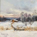 Oljemålning Ivar Naumann (1851-1906)