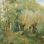 Oljemålning Pierre Emmanuel Damoye (1847