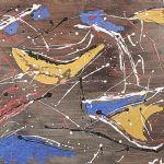 Oljemålning Oidentifierad konstnär