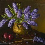 Oljemålning Johnny Oppenheimer (1923-200