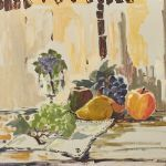 Oljemålning Aldo Altomare (f. 1923)