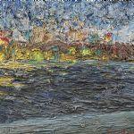 Oljemålning signerad, 36x46