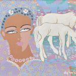 Gouache Aly Ben Salem (1910-2001)