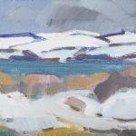 Oljemålning Kjell Leander Engström (1914