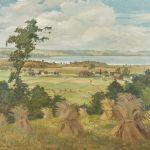 Oljemålning Carl Olof Petersen