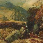 Oljemålning Clarence Henry Roe (1850-190