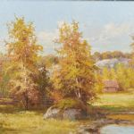 Oljemålning Anshelm Dahl (1897-1964)