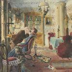 Akvarell Rudolf Carlborg
