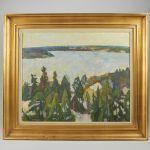 Oljemålning Gunnar Svensson
