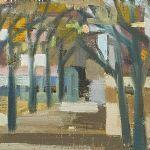 Oljemålning Harry Wichmann (1916-1993)