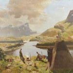 Oljemålning Vilhelm Engström