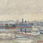 Oljemålning Curt Viberg (1908-1969)