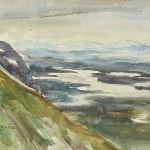 Akvarell Ragnhild Nordensten