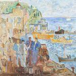 Oljemålning Yngve Svedlund (f. 1925)