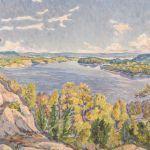 Oljemålning Å Grundström