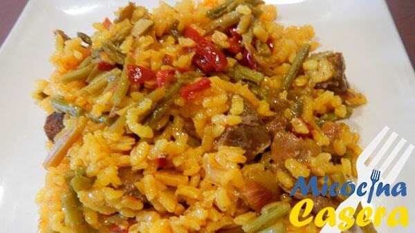 Arroz con carrilleras