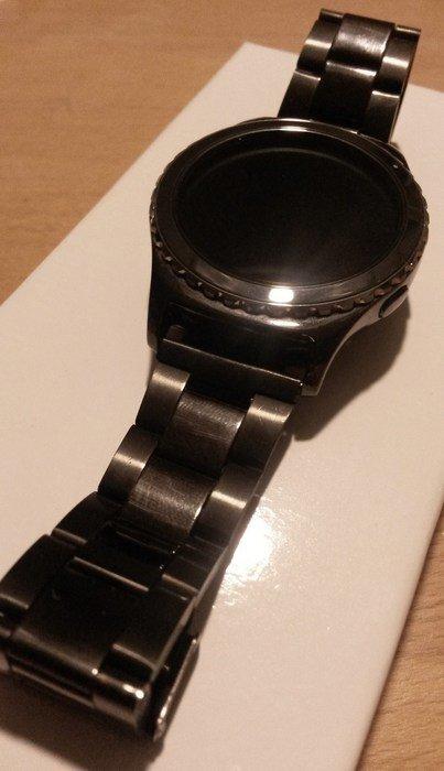 Svarta Armband till Samsung Gear S2