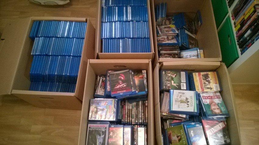 Blu-ray samling