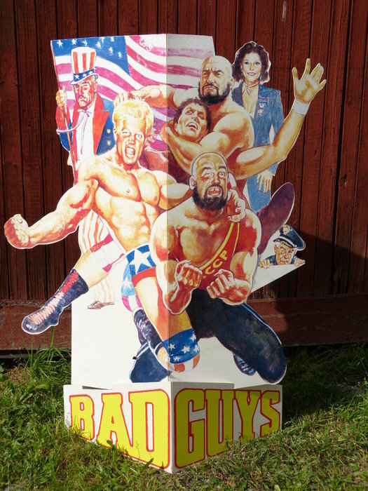 Bad Guys, filmreklam. 120 cm hög