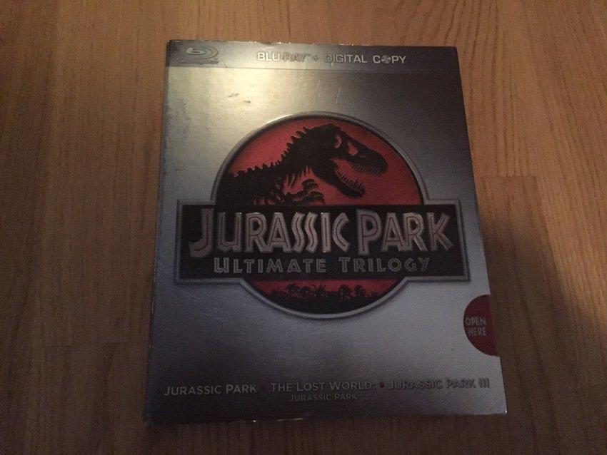 Jurassic Park Trilogy - Blu-Ray