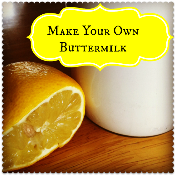 How to Make Your Own Buttermilk