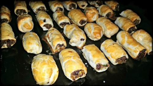 quorn mince sausage roll