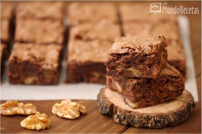 Brownie rápido con Thermomix.