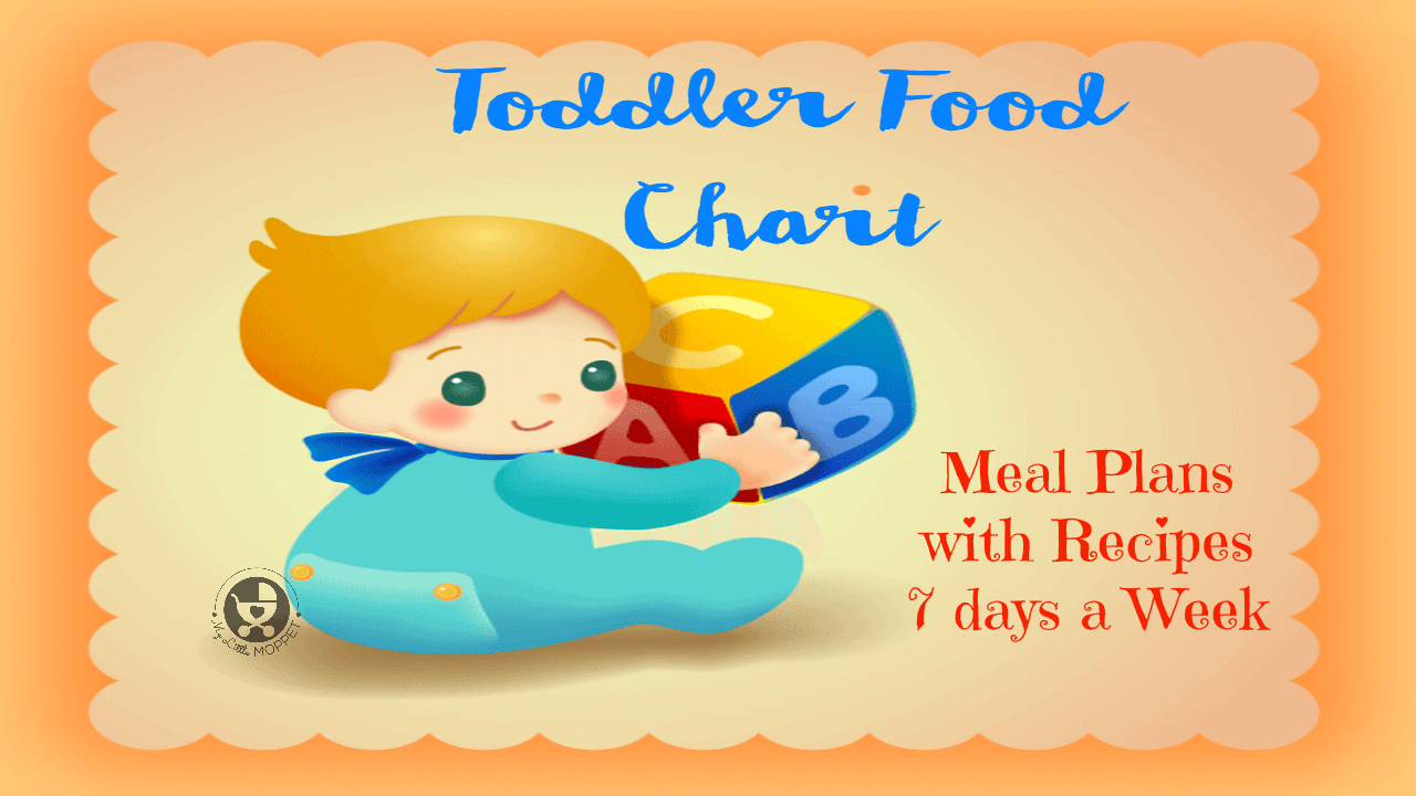 Indian Toddler Food Chart with Recipes 2