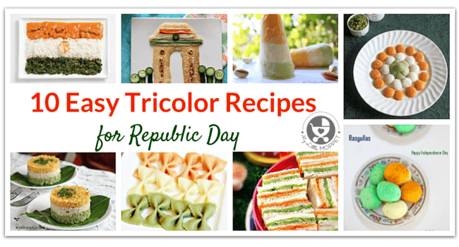10 Easy Tricolor Recipes for Republic Day