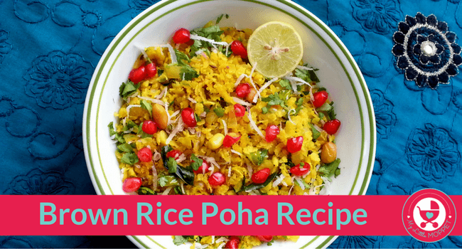 Brown Rice Poha Recipe