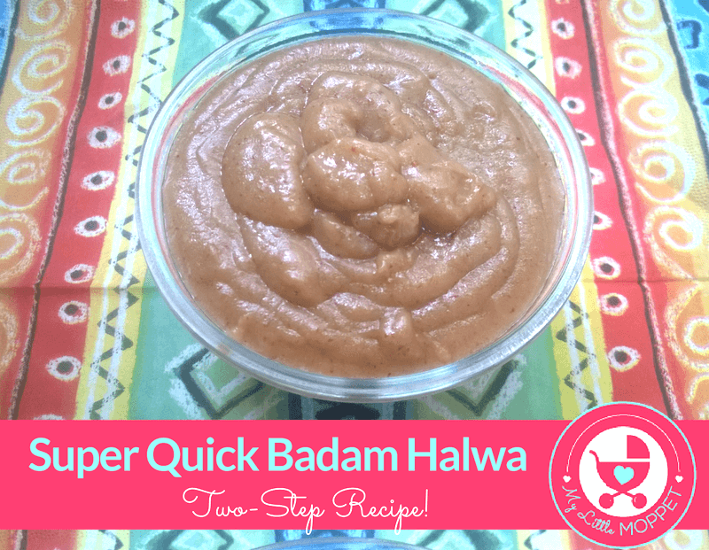 Super Quick Badam Halwa (2-Step Recipe)