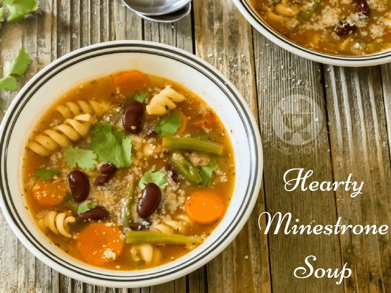 Hearty Minestrone Soup with Pasta